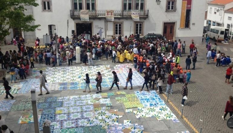 festa azulejo praça