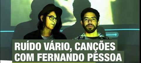 Fernando Pessoa Performance Biblioteca Beja