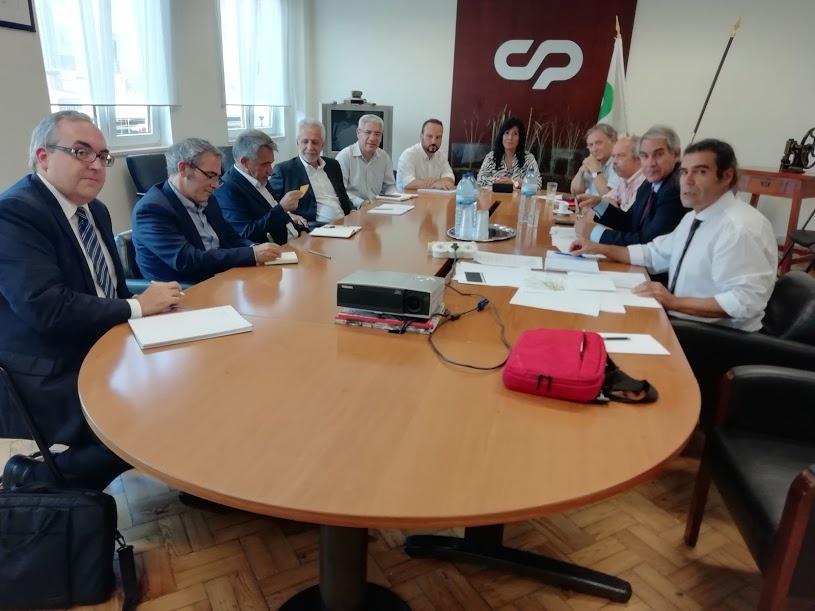 Plataforma reunião CP