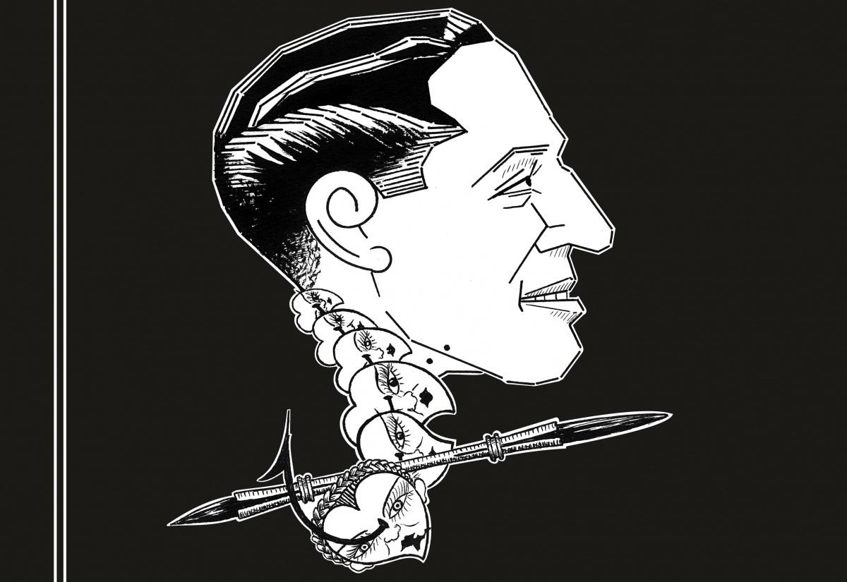 caricaturas Franco
