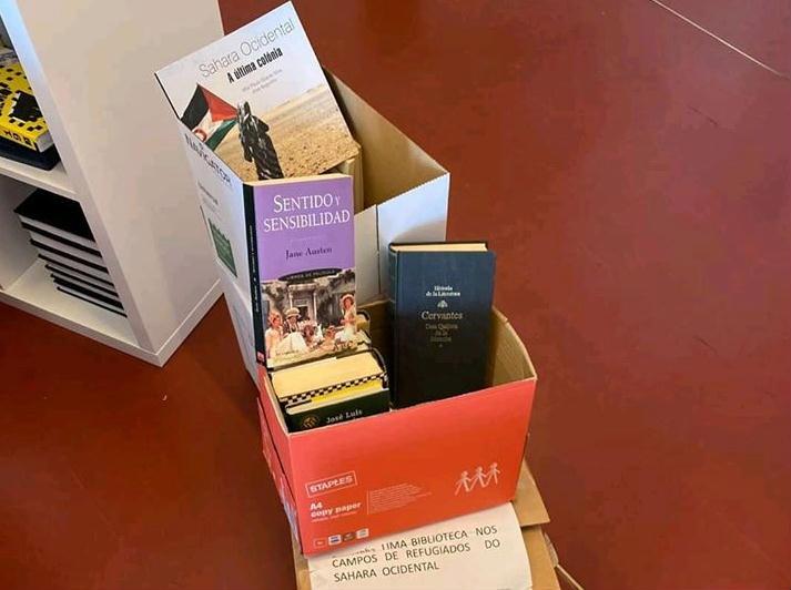 campanha livros biblioteca