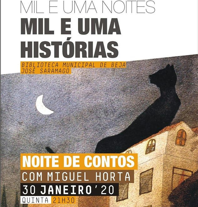 Sessão de Contos Miguel Horta