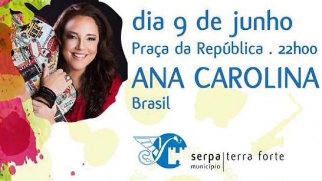 Ana Carolina no Encontro de Culturas em Serpa