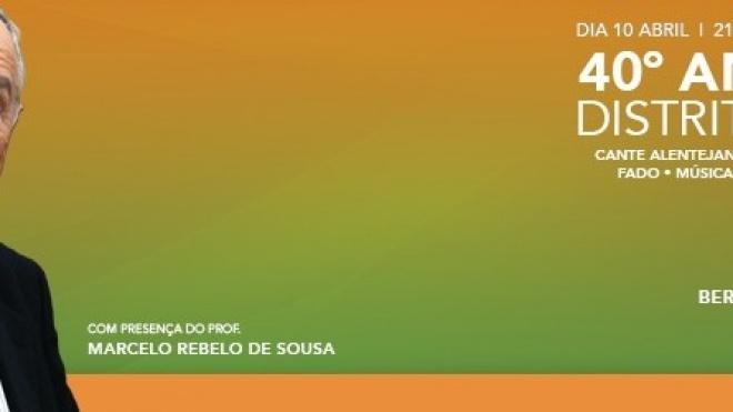 PSD de Beja festeja 40º aniversário do Partido com festa no Pax-Júlia