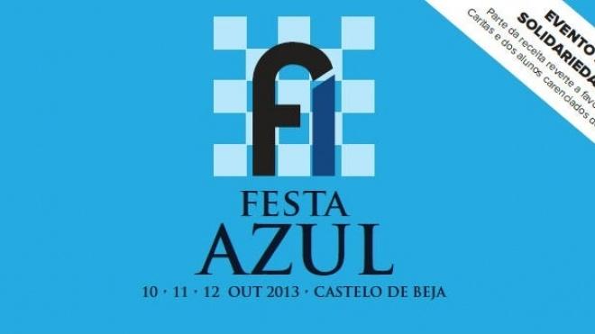 Festa Azul, nos dias 10, 11 e 12 deste mês, em Beja