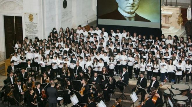 Cantata As Maravilhas de Fátima hoje em Beja