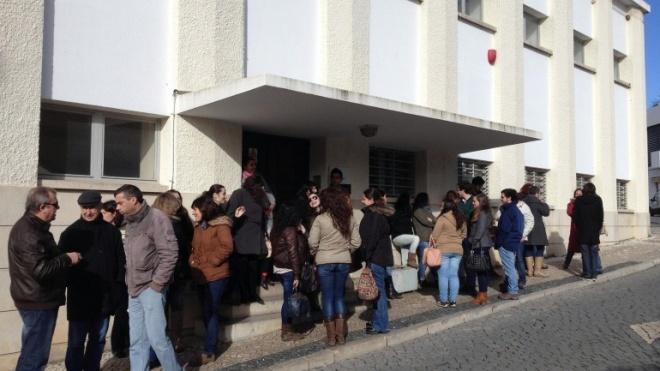 Trabalhadores dos call-centers fizeram greve