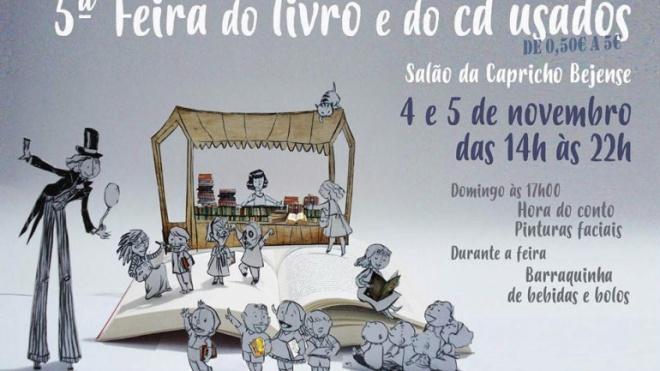 5ª Feira do Livro e do Cd usados na Capricho Bejense