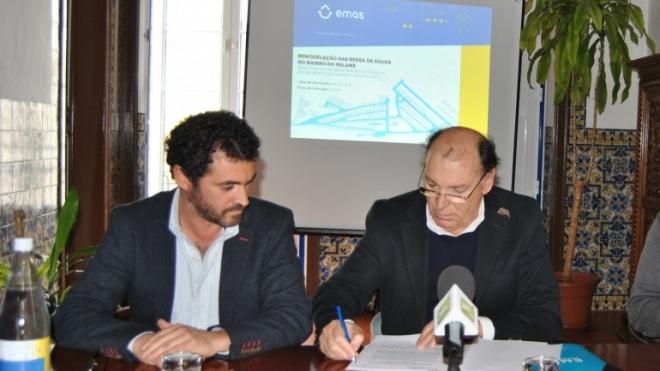 EMAS de Beja intervém na rede de águas de Trigaches