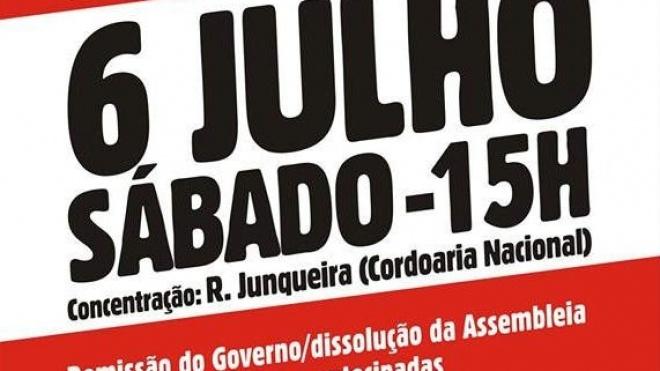 """""""Todos a Belém"""" para pedir eleições antecipadas"""
