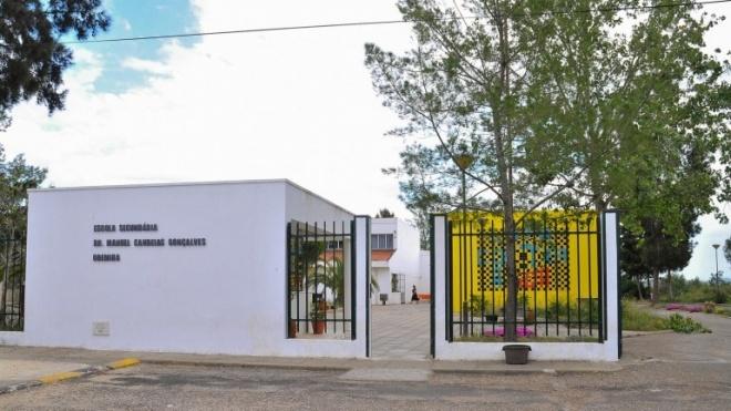 Escola secundária de Odemira degradada