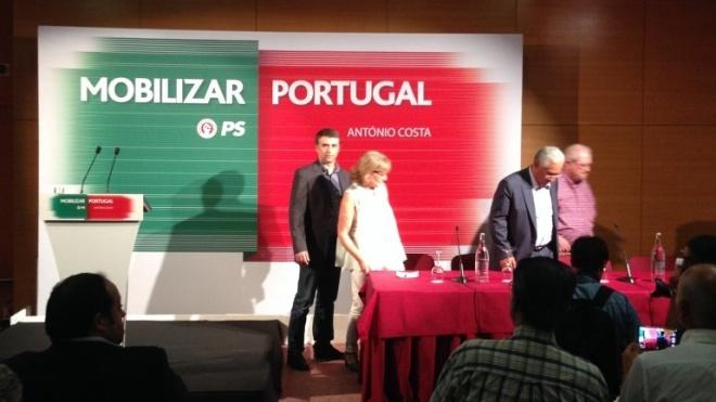 António Costa em Beja, com olho em Espanha