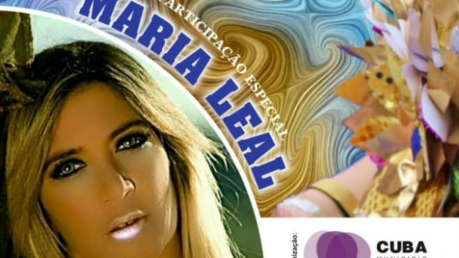 Maria Leal convidada do Carnaval de Cuba