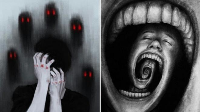 Exposição com trabalhos de utentes da psiquiatria