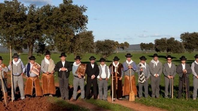 """""""Os Camponeses de Pias"""" actuam em Bilbao"""