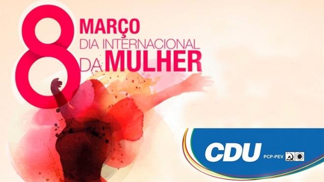 Moção da CDU sobre o Dia Internacional da Mulher