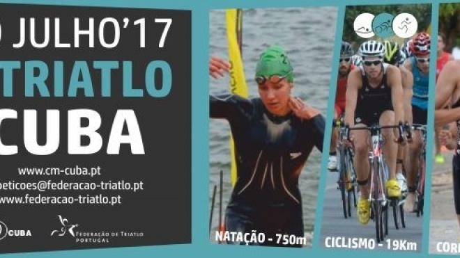 7ª etapa da Taça de Portugal de Triatlo hoje em Cuba