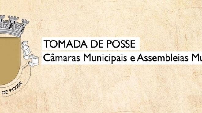 Datas das tomadas de posse nas Câmaras e Assembleias Municipais