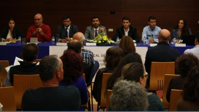 Serpa recebeu sessão sobre tráfico de seres humanos