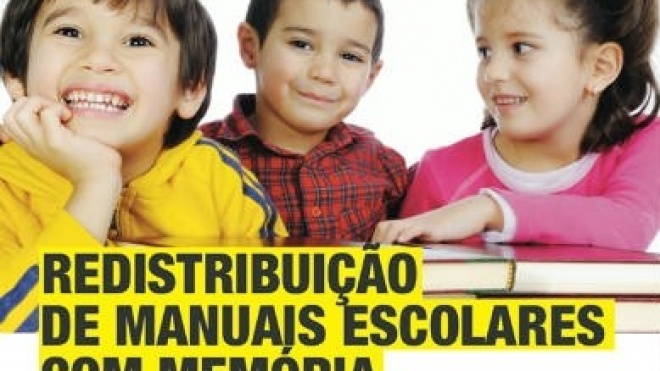 Campanha 2014 de recolha e distribuição de livros escolares