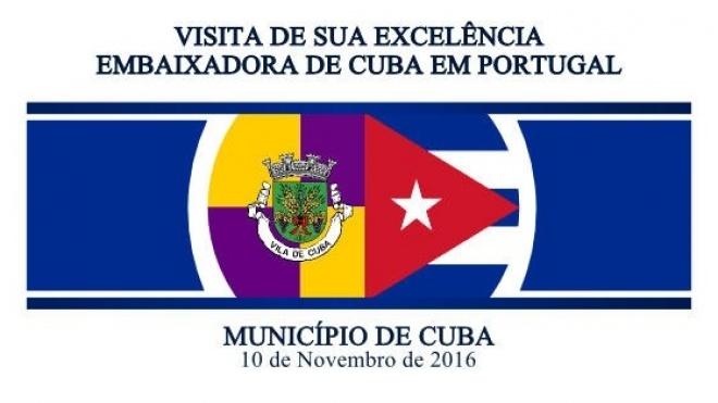 Embaixadora de Cuba visita Cuba no Alentejo
