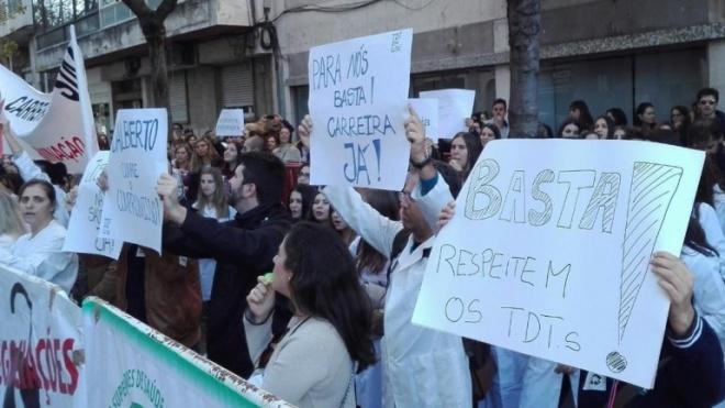 TSDT em greve por tempo indeterminado