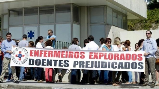 64% dos enfermeiros da ULSBA estão hoje em greve