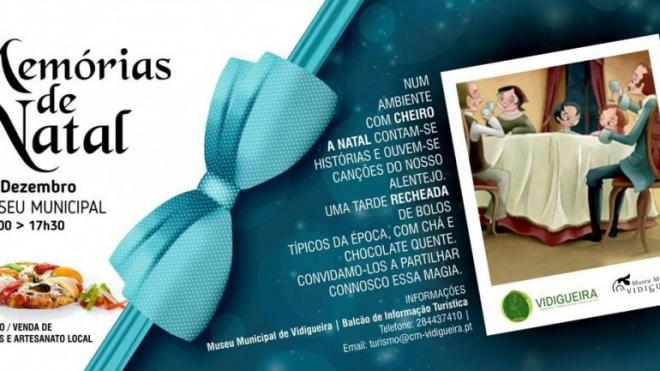 Em Vidigueira há memórias de Natal