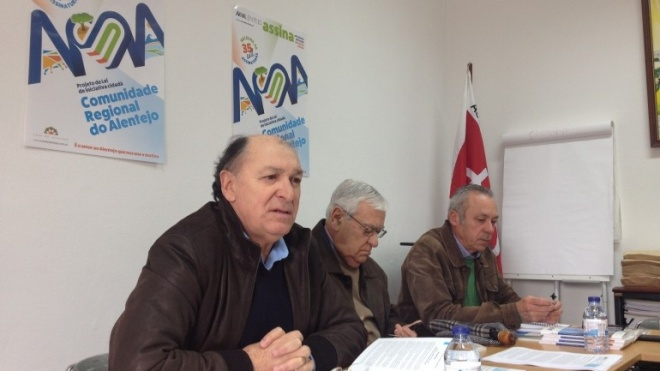 """Criar a """"Comunidade Regional do Alentejo"""""""