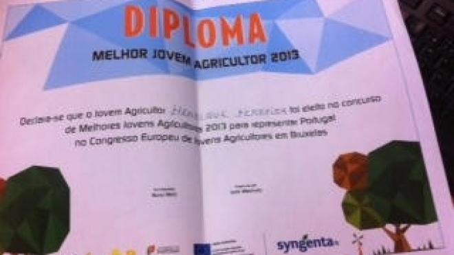 Henrique Silvestre: Melhor Jovem Agricultor Português 2013
