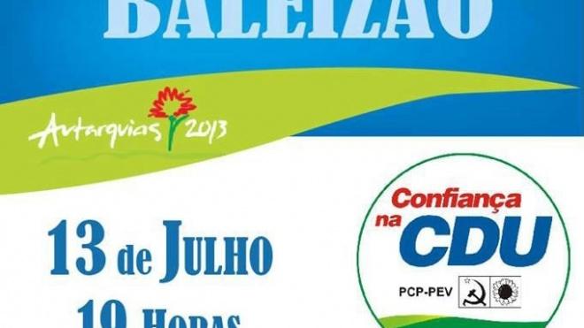 CDU apresenta candidatos à freguesia de Baleizão