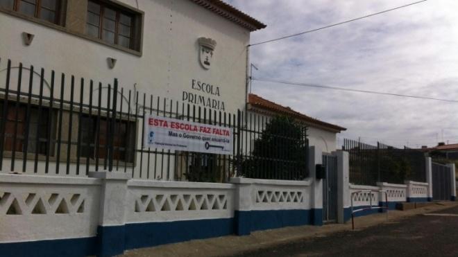 Aljustrel quer manutenção da escola de Rio de Moinhos
