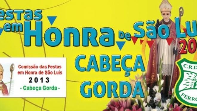 Festas de São Luís em Cabeça Gorda