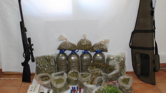 GNR apreendeu mais de 2 mil doses de folhas de cannabis em Odemira