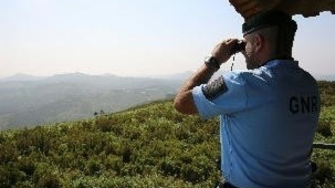 GNR prolongou até domingo patrulhamento de prevenção de incêndios