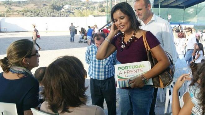 PSD/CDS-PP em campanha em Mértola