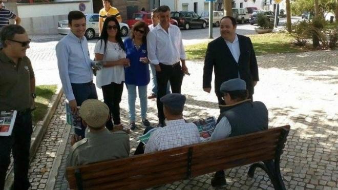 Candidatura do PS com ações em Beja