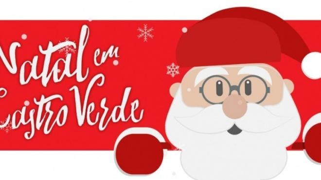 Castro recebe passeio de pais Natal e concerto de rua