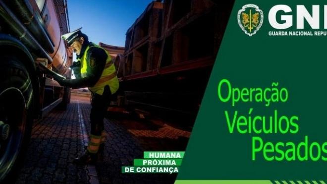GNR promove Operação Veículos Pesados