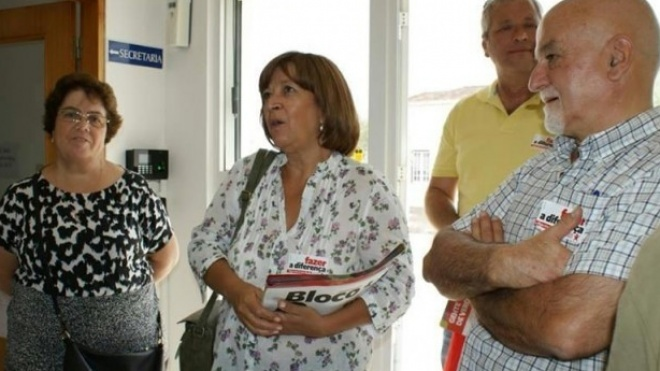 Bloco de Esquerda em campanha em Odemira