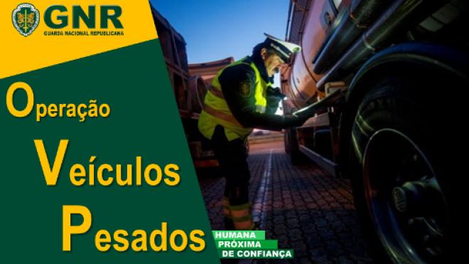 GNR na estrada com Operação Veículos Pesados