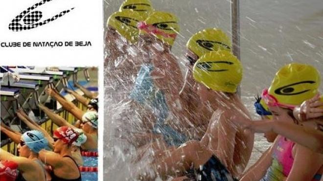 Aulas de natação no Clube de Natação de Beja