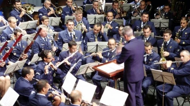 Banda da Força Aérea actua hoje em Beja