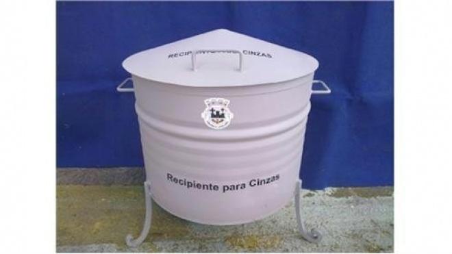 Castro Verde com cinzeiros colectivos para depósito de cinza vegetal