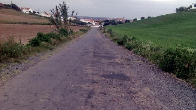 Estradas degradadas no concelho de Aljustrel