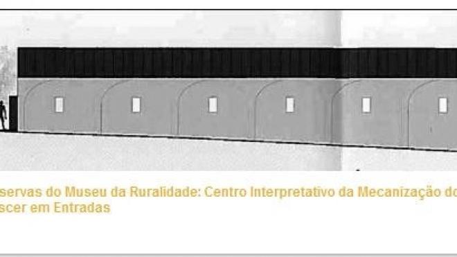 Abertura de concurso para construção do Pavilhão de Reservas em Entradas
