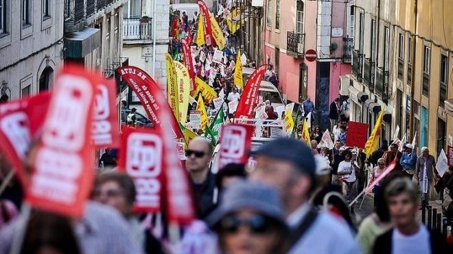 Greve geral e manifestação da função pública