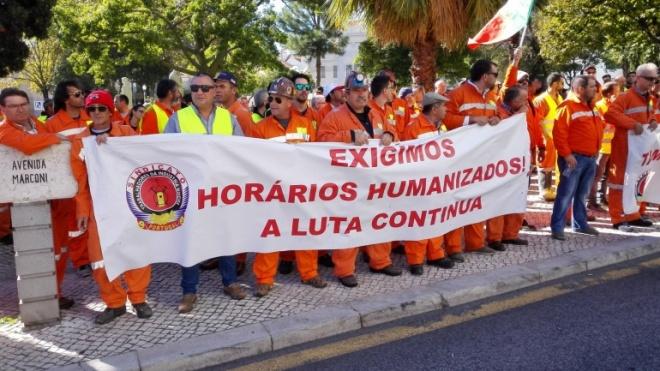 Os trabalhadores da SOMINCOR regressam hoje à greve