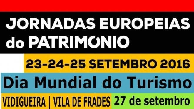 Vidigueira assinala Jornadas Europeias do Património e o Dia Mundial do Turismo