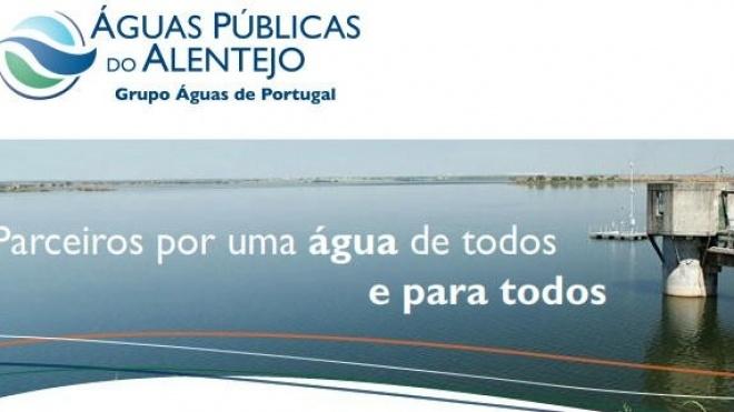 Águas Publicas do Alentejo com candidaturas ao POSeuR